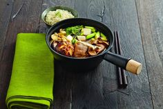 A rich, home-style broth cooked to perfection with thinly cut beef and a selection of Asian vegetables. Try this Japanese Style Beef Stew popularly known as Sukiyaki. - See more at: https://asianinspirations.com.au/recipe/sukiyaki-japanese-style-beef-stew/#sthash.V1njenF8.dpuf
