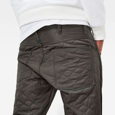5620 Quilted 3D Tapered Pants Denim Branding, Raw Denim, G Star Raw, Swag Outfits, Military Apparel, Mens Fashion, Men's Style, Casual, How To Wear