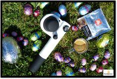 FR: Le week-end de Pâques touche à sa fin, nous avons dégusté notre expresso dans le jardin ! Et pour vous, c'était où ?  ENG: The Easter weekend has come to an end... we have had our expresso in the garden ! What about you ?