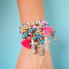 Pulsera Color, Jewelry, Handmade Jewelry, Hand Made, Handmade Accessories, Bangle Bracelets, Jewlery, Jewerly, Colour