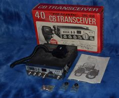 Realistic TRC 450 40 Channel SSB CB Radio Used Condition 21-1564 with box #Realistic