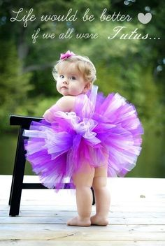 Life would be better if we all wore tutus! www.facebook.com/thetulleshoppe