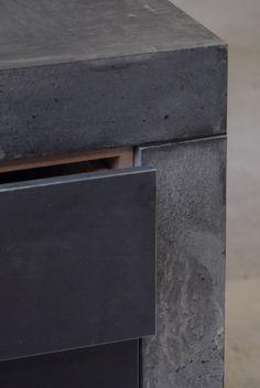 Concrete furniture - love it