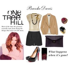 """Brooke Davis: One Tree Hill"""