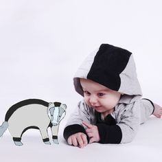 The Badger Suit - Cloo Collection #cloocollection #kids