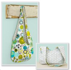 Super Simple Reversible Slouch Bag