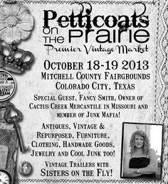 Fall Show Oct 18-19th Colorado City Tx
