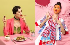 Join Schön! for an unusual spa-day with this exclusive online editorial by photographer Aleksandra Kingo.