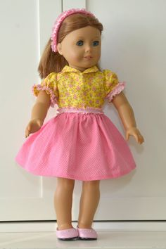 18-Inch American Girl Doll Clothes Party/Spring by AmyandMya