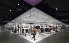 Hyundai Department Store at KINTEX Mall in Il San by HMKM, Seoul store design