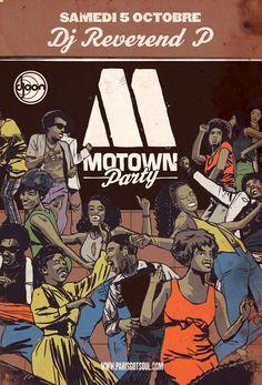 MOTOWN PARTY - 05 Octobre 2013