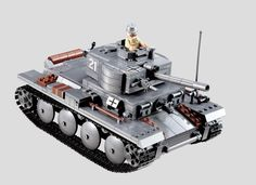 Building Block German WW BIG TANK OF German : WW2 WORLD WAR TANK (NO BOX) #newbrand