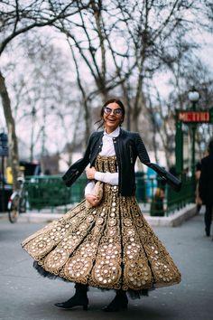 Dior Hats Were Everywhere On Day 1 of Paris Fashion Week | Fashionista #parisfashionweeks,