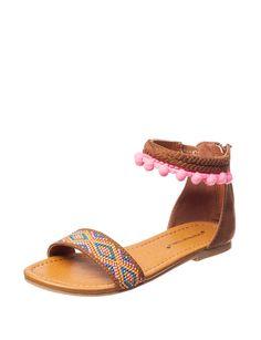 Sugar Bubblegum Sandals- Girls 11-5