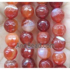ruby striped agate bead, faceted round (GA1201-10MM) approx 10mm dia Agate Beads, Diy Crafts, Money Tips, Saving Money, Jewelry, Jewlery, Jewels, Save My Money, Jewerly