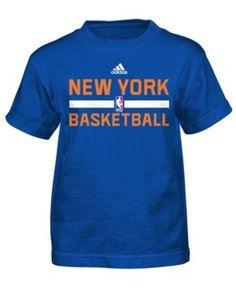 1cd92226993 adidas Little Boys' New York Knicks Practice Wear Graphic T-Shirt & Reviews  - Sports Fan Shop By Lids - Men - Macy's
