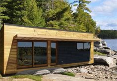 36 Bunkie. A 420 square-foot cabin.