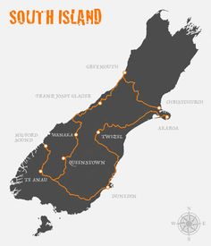 Suggested Itinerary For South Island, New Zealand