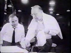 Recording session with Igor Stravinsky part 1