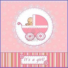 cool Homemade Baby Shower Invitations For Girls