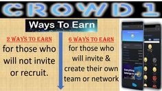 Crowd1 :   Ways To Earn Updated 2020 - YouTube Make Money Online, How To Make Money, Networking Companies, Free Sign, Smartwatch, Crowd, Christian, Marketing, Live