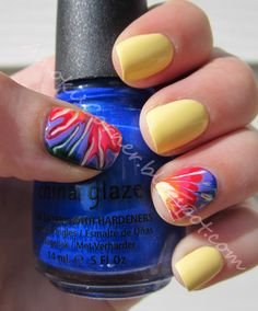 Lemon Fizz with a Tye-Dye accent by Christina Powell