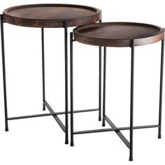 2-Piece Morris Nesting Table Set  at Joss and Main
