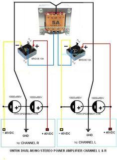Basic Electronic Circuits, Electronic Circuit Design, Electronic Schematics, Electronic Engineering, Electronics Basics, Electronics Projects, Power Supply Design, Electrical Circuit Diagram, Diy Amplifier