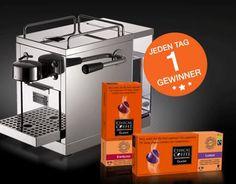 Gewinne mit Ethical Coffee täglich eine Warm Inox Maschine und 20 Ethical Coffee-Kapseln!  Trinkst du gerne Kaffee? Dann sichere dir jetzt gleich gratis deine Chance im Wettbewerb.  Hier mitmachen und gewinnen: http://www.gratis-schweiz.ch/gewinne-eine-warm-inox-maschine/