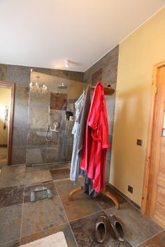 Gładź gliniana w łazience? Jak najbardziej. Conlino by Conluto www.dom-z-natury.pl