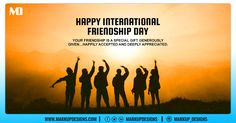 Friendship is a priceless gift, That cannot be bought or sold. But the value is far greater, Than a mountain of gold. Happy International Friendship Day.  #FriendshipDay2020 #FriendshipDay #InternationalFriendshipDay #MarkupDesigns International Friendship Day, Special Gifts, Digital Marketing, Appreciation, Mountain, Happy, Gold, Happiness, Being Happy