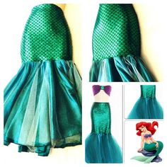Oh what an awesome idea for a mermaid skirt.  How fun would it be to wear this to Disneyland?  XD ce8f4a778d8999ff51bbcb11cd73e668.jpg (570×570)