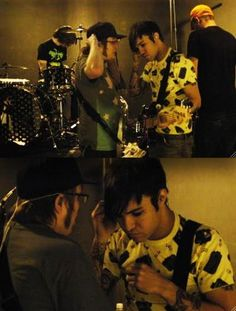 They are both adorable! But they always have been, it's not just recent. Peter Wentz, Soul Punk, Music Bands, Emo Bands, Young Blood, Patrick Stump, Guys, Falling Down, All Time Low