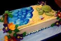Complete Deelite turtle beach cake