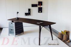 Work life balance. Woodwork handmade in germany. Make your workspace green. #demoza
