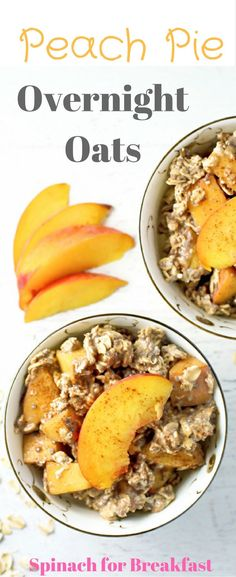We love overnight oats for a healthy, make ahead breakfast to support clean eating and weight loss!