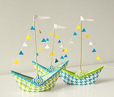 Παίζουμε μαζί: Παιδικό πάρτι! Πώς να φτιάξετε πανέμορφες προσκλήσεις και δώρα με χάρτινα καραβάκια!