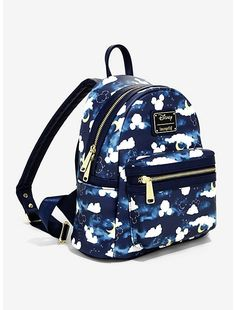 Loungefly Disney Mickey Mouse Clouds Mini Backpack BoxLunch Exclusive 2019 The post Loungefly Disney Mickey Mouse Clouds Mini Backpack BoxLunch Exclusive 2019 appeared first on Bag Diy. Cute Mini Backpacks, Stylish Backpacks, Girl Backpacks, College Backpacks, Small Backpack, Backpack Bags, Mickey Mouse, Disney Mickey, Disney Handbags