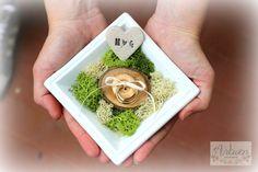 Wedding ring bowl, Ring Bearer Plate, Ring Bowl Flower, Rustic Ring Bowl, Wedding ring pillow, Ring Bowl by ArtwenShop on Etsy