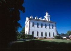 Kirkland Ohio;  first temple built by The Church of Jesus Christ of Latter-day Saints,  Incredible church history tied to the era and area. The Church grew in Kirkland, Ohio and the Church headquarters was established here. Eventually, conflicts arose and the remaining members moved to Far West, Missouri.