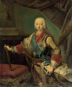 Studio of Georg Christoph Grooth , Portrait of the Grand Duke Peter Fedorovich Grand Duke, Will Smith, Studio, Portrait, Canvas, Tela, Men Portrait, Portrait Illustration, Canvases