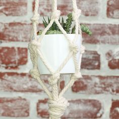 Tiered Macrame Planter 🌿