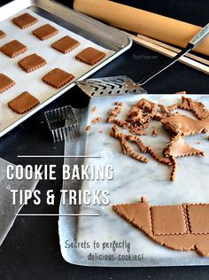 Cookie baking secret