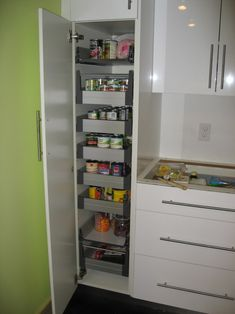 55 Amazing Stand Alone Kitchen Pantry Design Ideas – ROUNDECOR Additional pantry storage beside coffee/breakfast corner. Amazing stand alone kitchen pantry design ideas Ikea Pantry Storage, Ikea Kitchen Storage Cabinets, Ikea Kitchen Pantry, Ikea Kitchen Organization, Kitchen Pantry Design, Ikea Kitchens, Kitchen Ideas, Organization Ideas, Wall Cabinets