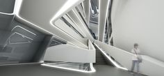 Image result for zaha hadid stairs