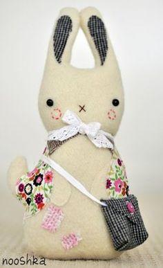 Bunny - Beautiful fabrics!