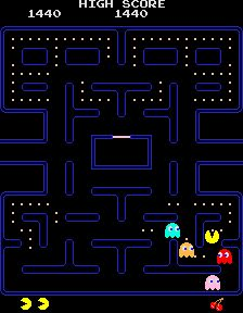 Pac Man favorite video game as a kid