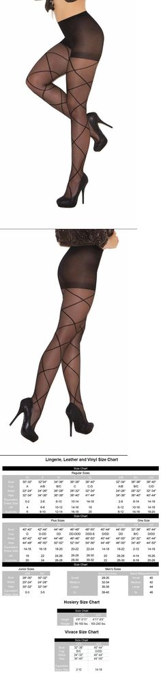 1550e4e2858 Pantyhose and Tights 11525  Criss Cross Pattern Design Detail Sheer  Pantyhose Nylons Hosiery Black 1841