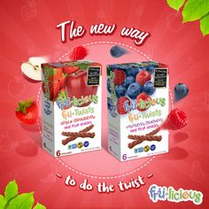 Dance to the rhythm of our delicious fruit twists! #frulicious #fruliciousHappiness #Fun #Yum #Tasty