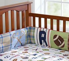 Baby Boys' Crib Sheets & Crib Sheets for Boys | Pottery Barn Kids
